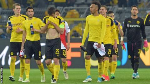 Borussia Dortmund players