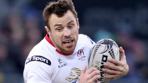 Ulster winger Tommy Bowe