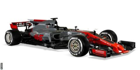 F1 Pre-season Test Barcelona: Haas officially launches VF17