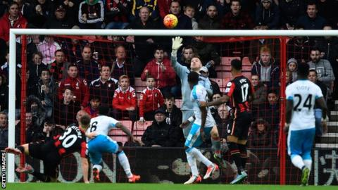 Rob Elliot made a string of brilliant saves to earn Newcastle their first away win of the season at Bournemouth.