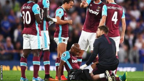 Ayew set for four-month injury lay-off