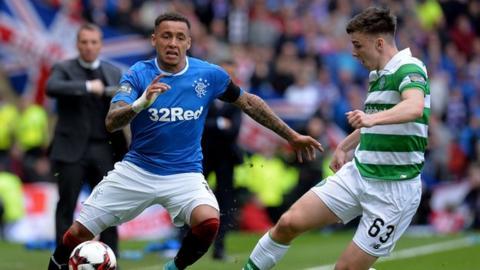 Celtic win 5-1 against hapless Rangers