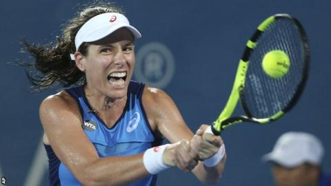 Johanna Konta beats Agnieszka Radwanska to win Apia International