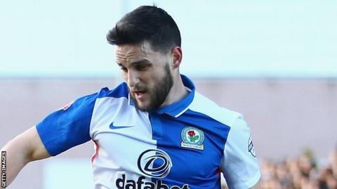 Blackburn midfielder Craig Conway