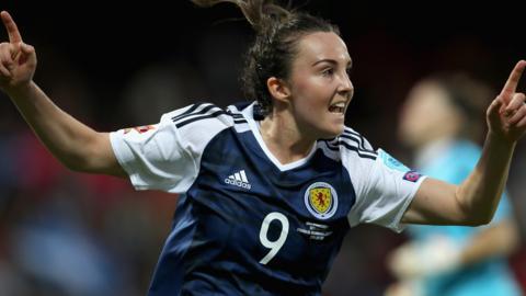 Caroline Weir of Scotland