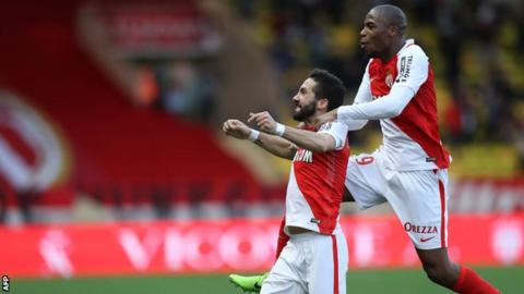 Monaco move five points clear at Ligue 1 summit after beating Bordeaux