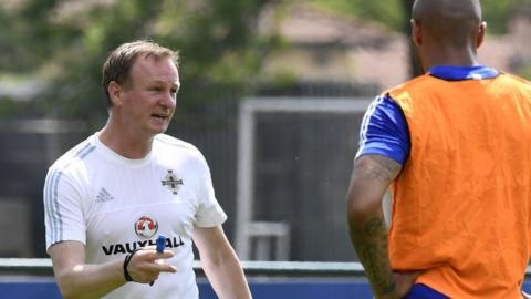 Michael O'Neill coaching