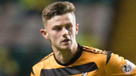 Alloa Athletic defender Calum Waters