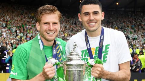 Stuart Armstrong and Tom Rogic