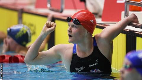 GB Para-swimmer Susie Rodgers