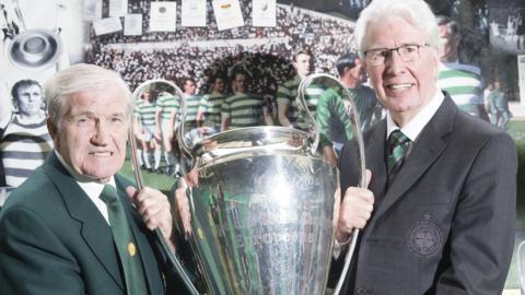 Bertie Auld and Jim Craig