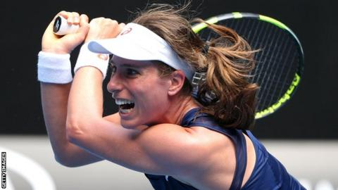 Australian Open 2017: Johanna Konta plays down hopes of emulating Virginia Wade