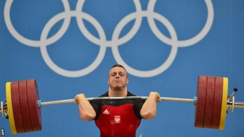 Weightlifting-Olympic champion Zielinksi fails doping test