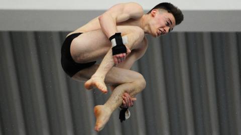 Matty Lee, team GB diver