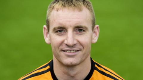 Alloa Athletic striker Andy Graham