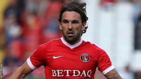 Charlton Player of the year Ricky Holmes