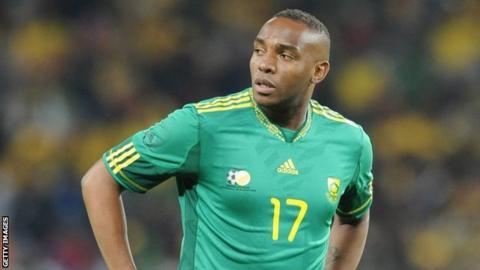 Former South Africa striker Benni McCarthy