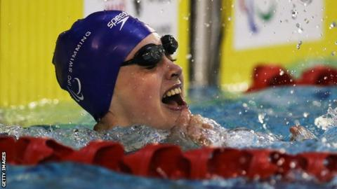 Swimmer Tully Kearney
