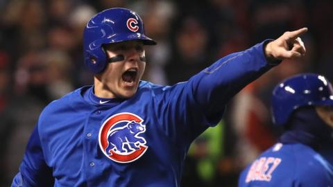 Chicago Cubs win in Cleveland