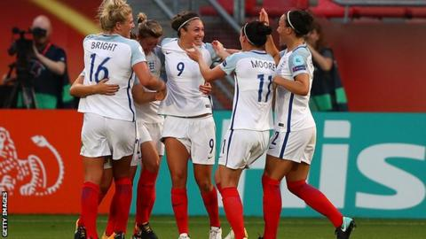 England Women beat Scotland 6-0