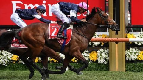 Rekindling wins Melbourne Cup as trainer O'Brien beats father Aidan