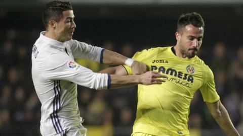Ronaldo and Mario Gaspar