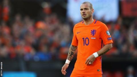 Wesley Sneijder: Nice set to sign Netherlands midfielder