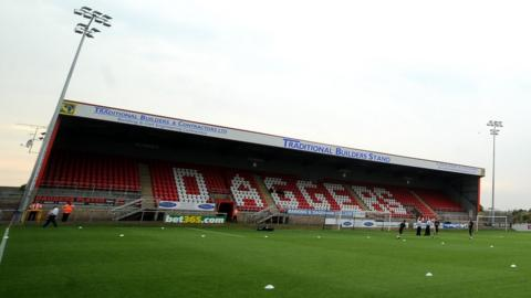 Dagenham & Redbridge's Chigwell Construction Stadium