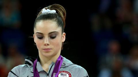 London 2012 Olympic gold medallist McKayla Maroney