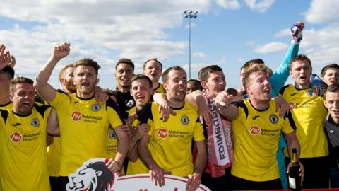 Edinburgh City visit Motherwell U20 in the first round