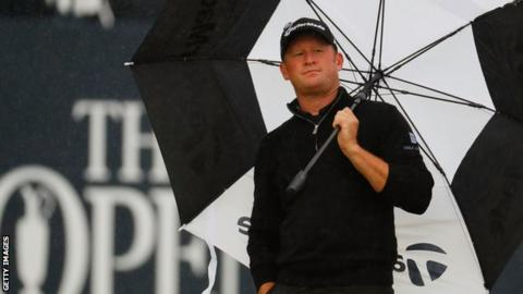 Jamie Donaldson's joint 32nd finish in 2013 was his best performance at The Open Championship