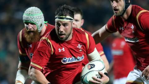Wales name squad for Boks, November Tests