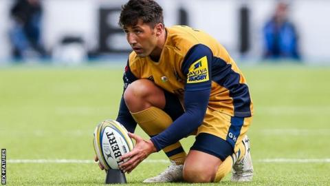 Gavin Henson kicked three first-half penalties to give Bristol the interval lead
