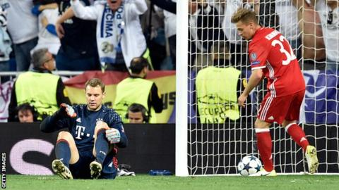 Bayern Munich goalkeeper Neuer to miss rest of season