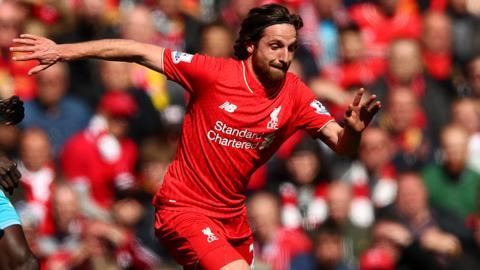 Joe Allen of Liverpool