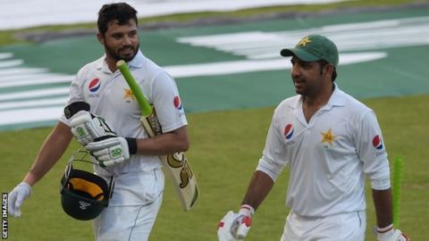 Azhar Ali and Sarfraz Ahmed