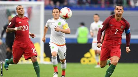 Cristiano Ronaldo: Real Madrid star reacts to Portugal draw in Confederations Cup