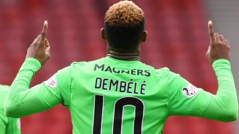 Moussa Dembele scored a double