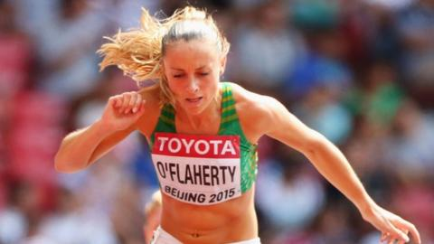 Kerry O'Flaherty has also qualified for next year's Olympics