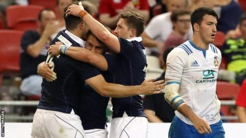 Scotland arrive in Australia buoyed by a good win over Italy in Singapore