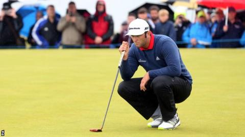 Rahm tied for lead at Irish Open