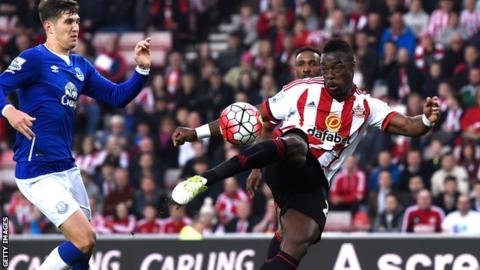 Lamine Kone scores against Everton