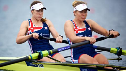 GB women's pair team Karen Bennett and Holly Norton