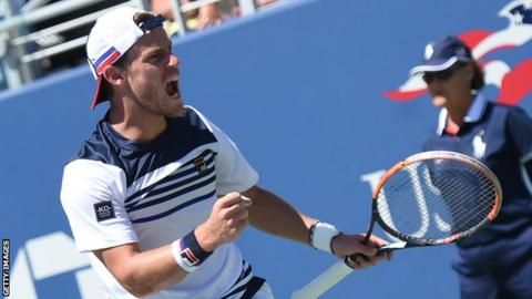 Schwartzman stuns Cilic at US Open