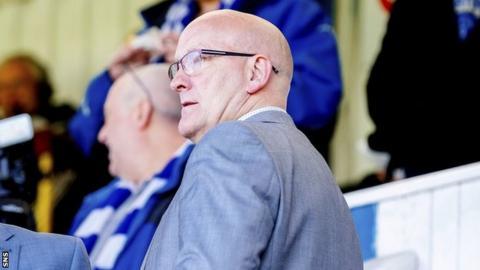 Greenock Morton manager Jim Duffy