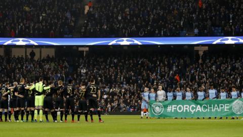 Manchester City v Celtic