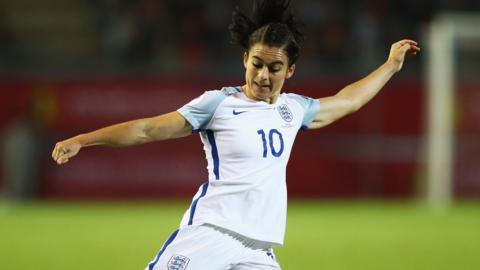 England's Karen Carney