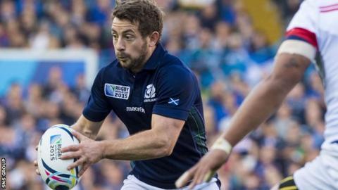 Scotland captain Grieg Laidlaw