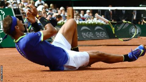 Rafael Nadal won his first French Open title at the age of 19 in 2005