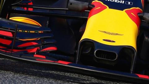 Red Bull have a different aerodynamic approach to the other leading teams
